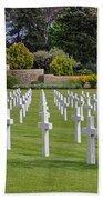 Rhone American Cemetery Bath Towel