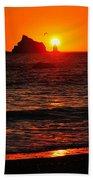 Rialto Beach Sunset Bath Towel