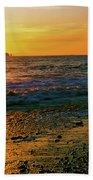 Rialto Beach Sunset Olympic National Park Bath Towel