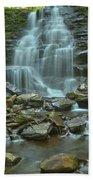 Ricketts Glen Waterfall Canyon Bath Towel
