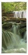 Ricketts Glen Waterfall Cascades Bath Towel