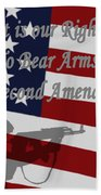 Right To Bear Arms Bath Towel