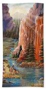 Rim Canyon Ride Bath Towel