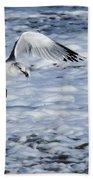 Ring-billed Gull Bath Towel