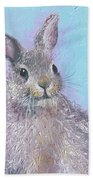 Easter Bunny Painting - Ringo  Bath Towel