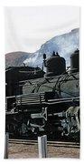 Rio Grande Railway Baldwin Built In 1903 No. 464 Circa 1955 Bath Towel