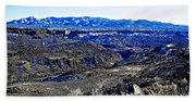 Rio Grande River Canyon-arizona Bath Towel