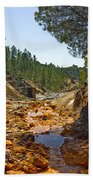 Rio Tinto Mines, Huelva Province Bath Towel
