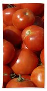 Ripe Tomatoes Bath Towel