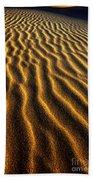 Ripples Oregon Dunes National Recreation Area Bath Towel