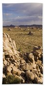 Rise Of Gneis Rock Formations Bath Towel