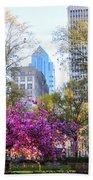 Rittenhouse Square In Springtime Bath Towel