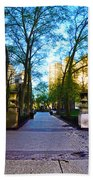 Rittenhouse Square Park Bath Towel