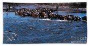River Crossing Bath Towel