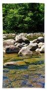 River Of Rocks Bath Towel