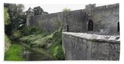 River Suir And Cahir Castle Bath Towel