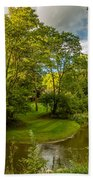 River Tranquility Bath Towel