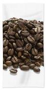 Roasted Coffee Beans Bath Towel