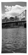 Roberto Clemente Bridge Pittsburgh Bath Towel