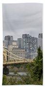 Roberto Clemente Bridge Pittsburgh Pa Bath Towel