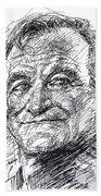 Robin Williams Bath Towel