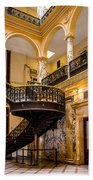 Rochester City Hall Stairs Bath Towel
