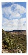 Rock Cliff Southern Madagascar Bath Towel
