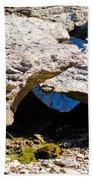 Rock Formation Devonian Fossil Gorge Bath Towel