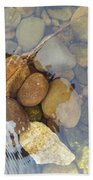 Rocks And Pebbles 2 Bath Towel