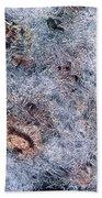Rocks In Ice Bath Towel