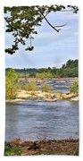 Rocks In The River Bath Towel
