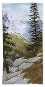 Rocky Mountain Solitude Bath Towel