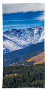 Rocky Mountains Independence Pass Bath Towel