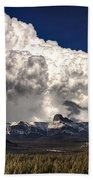 Rocky Mountains Bath Towel