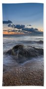 Rocky Sunrise Bath Towel