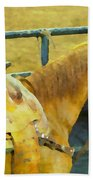 Rodeo Horse Hand Towel
