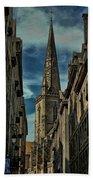 Cathedrale Saint-vincent-de-saragosse De Saint-malo Bath Towel