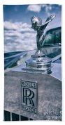 Rolls Royce Mascot Bath Towel