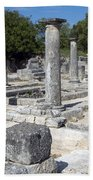 Roman Columns Bath Towel