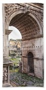 Roman Forum Arch Bath Towel