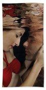 Romantic Couple Underwater Bath Towel