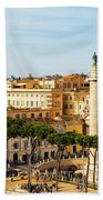Rome, Italy. Rome, Italy. Piazza Della Bath Towel