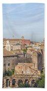 Rome Roman Forum 01 Bath Towel