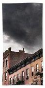 Rooftops Of New York Bath Towel