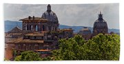 Rooftops Of Rome Bath Towel