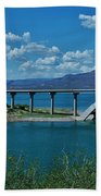 Roosevelt Lake 3 - Arizona Bath Towel