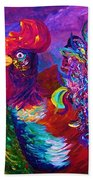 Rooster On The Horizon Bath Towel