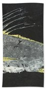 Gyotaku Roosterfish Bath Towel
