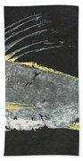 Gyotaku Roosterfish Bath Sheet