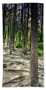 Roots Of Trees Bath Towel